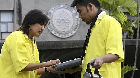 Säteilyarvoja mitattiin tiistaina mm. Filippiineillä.