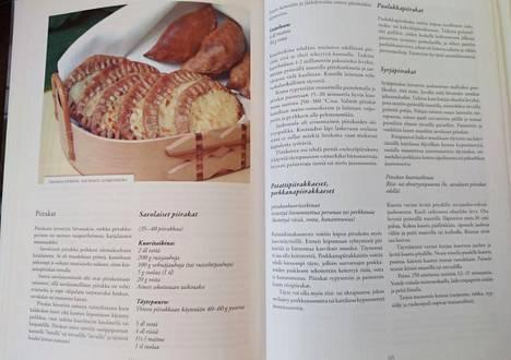 Inan hyllystä löytyneessä Savolainen syömälysti -kirjassa (Savonia AMK 2009) on Rostista muistuttavan piirakan ohje.