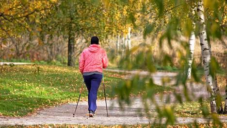 Kävelysauvoja saa edullisesti, parin alle 20 eurolla.