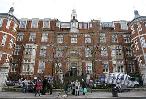 Jade Goody on sanonut aiemmin kuolevansa tässä Royal Marsdenin sairaalassa.