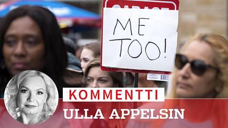 #Metoo on ollut tärkeä kampanja, mutta kenellekään ei ole oikein, jos se johtaa jahtiin, jossa yksittäisiä ihmisiä voidaan kohdella miten vain, kirjoittaa Ilta-Sanomien päätoimittaja Ulla Appelsin.