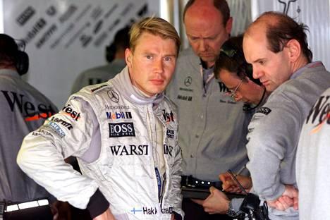 Adrian Newey suunnitteli Mika Häkkisen maailmanmestariajokit.