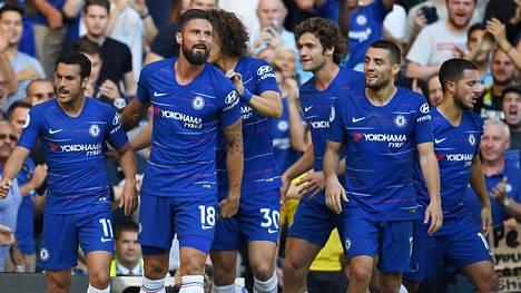 Chelsea jatkaa puhtaalla pelillä Valioliigassa.