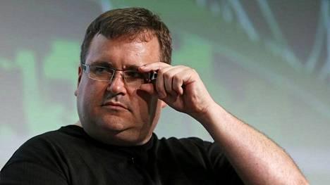 LinkedInin hallituksen puheenjohtaja ja yksi perustajista Reid Hoffman.