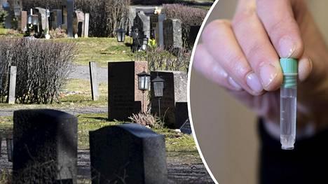 Suomen laki kieltää vainajan ylös kaivamisen DNA-testin avulla isyyden selvittämistä varten.