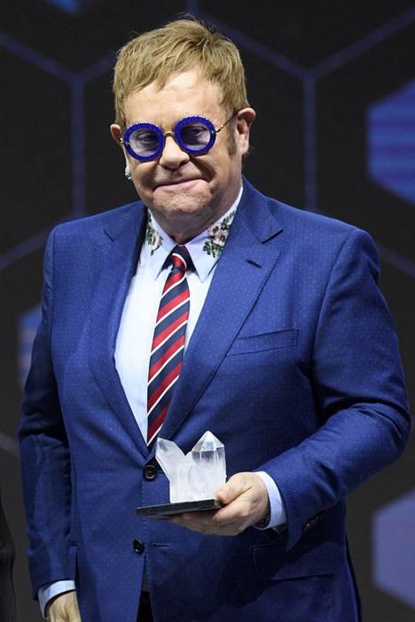 Laulaja-lauluntekijä Elton John oli edesmenneen prinsessa Dianan läheinen ystävä.