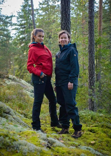 Sara Chafak ja Rosa Meriläinen.