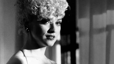 Kuvassa Madonna elokuvaroolissaan vuonna 1990.