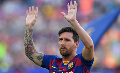 Lionel Messi on jättämässä Barcelonan eikä ottajista ole pulaa.