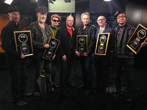 Dumari ja Spuget saivat kultalevyn 2014.