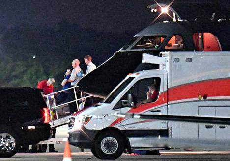 Viime viikon keskiviikkona Otto Warmbier saapui hätälennolla Yhdysvaltoihin.