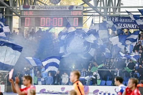 HJK:n kannattajat syttyvät aina paikallispeleihin. Derbyjen paluu olisi tärkeää HIFK:n lisäksi myös HJK:lle.