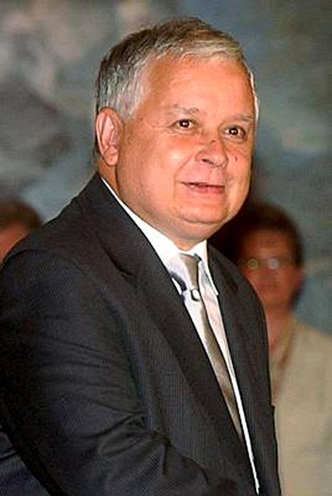 Puolan presidentti Lech Kaczynski on joutunut sairaalaan.