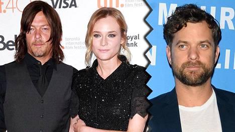 Diane Kruger on löytänyt rinnalleen uuden rakkaan, Norman Reedusin. Joshua Jacksonin (oik.) kanssa Kruger ehti olla yhdessä kymmenen vuotta.