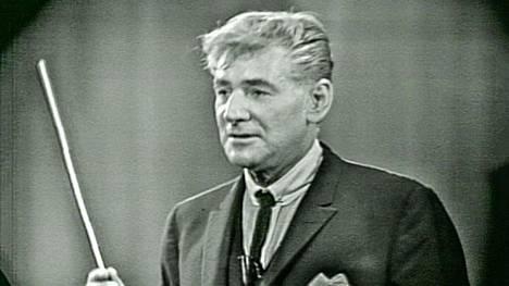 Kuuluisa kapellimestari Leonard Bernstein esitteli Sibeliuksen amerikkalaisille.