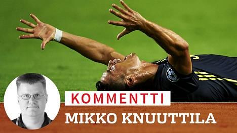 Kommentti: Onko Cristiano Ronaldo futishistorian ärsyttävin ruikuttaja?