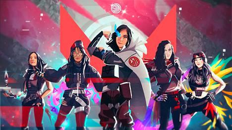 Koronan takia naisjoukkue esiteltiin animetyyliin tehdyllä joukkuekuvalla. So on kuvassa oikeassa reunassa.