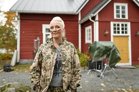 Mari Perankoski näyttelee elokuvassa Vänskän roolin.