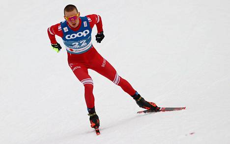 Aleksandr Bolshunov jäi toistamiseen mitaleitta Oberstdorfin MM-kisoissa. Myös sprintissä hän oli neljäs.