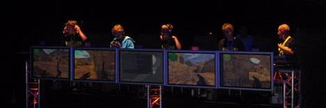 """Astralis vuonna 2004 ESWC-turnauksessa, Ranskassa. """"Vastassa oli kiinalainen wNv, se päättyi voitokkaasti."""""""