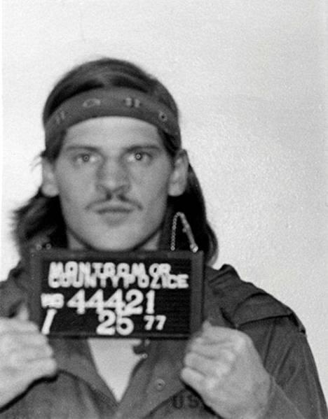Lloyd Lee Welch Jr poliisin pidätyskuvassa vuonna 1977.