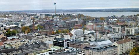 Tampere oli kakkonen.