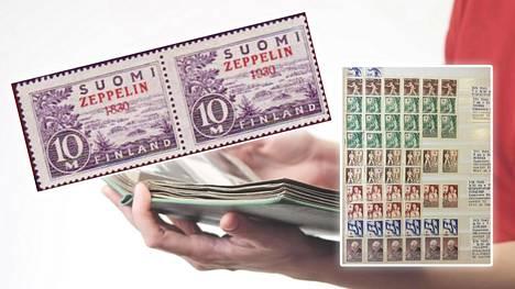 Huuto.netissä myytiin vastikään postimerkkikokoelma yli 2000 eurolla.