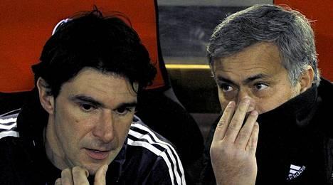 Aitor Karanka (vas.) toimi kolme vuotta Real Madridissa José Mourinhon kakkosmiehenä.