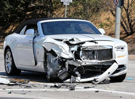 TMZ:n mukaan Jennerin 250 000 dollarin arvoinen Rolls-Royce oli vasta viikon vanha.