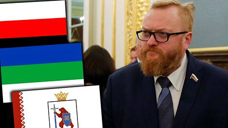 Vilati Milonov otti kantaa suomalais-ugrilaisten puolesta.