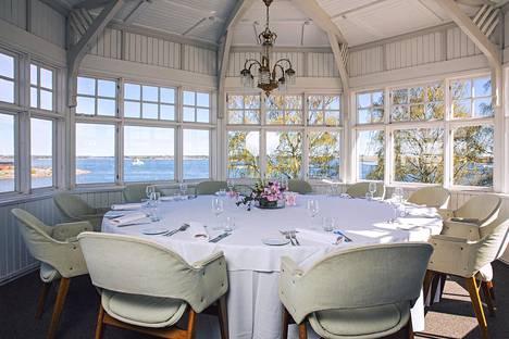Ravintola Saariston Arkipelago-erkkeri.