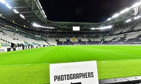 Juventus Stadiumilla ei sunnuntaina pelattu.