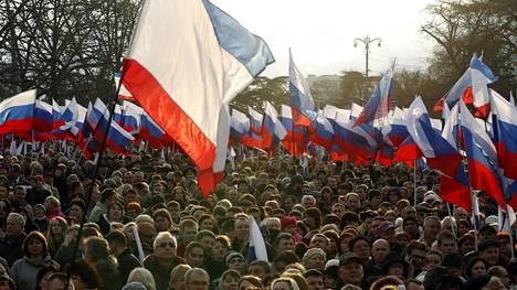 Venäjän presidentinvaalit pidetään sunnuntaina.