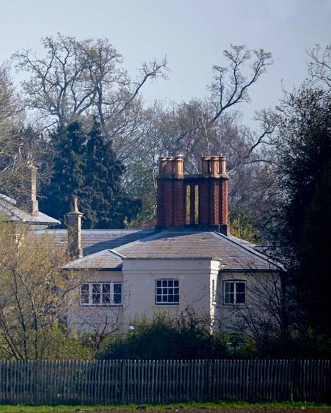 Frogmore Cottage remontoitiin viidestä asumuksesta yhdeksi.