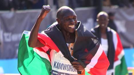Kamworor voitti viime marraskuussa New Yorkin maratonin ajalla 2.08.13.