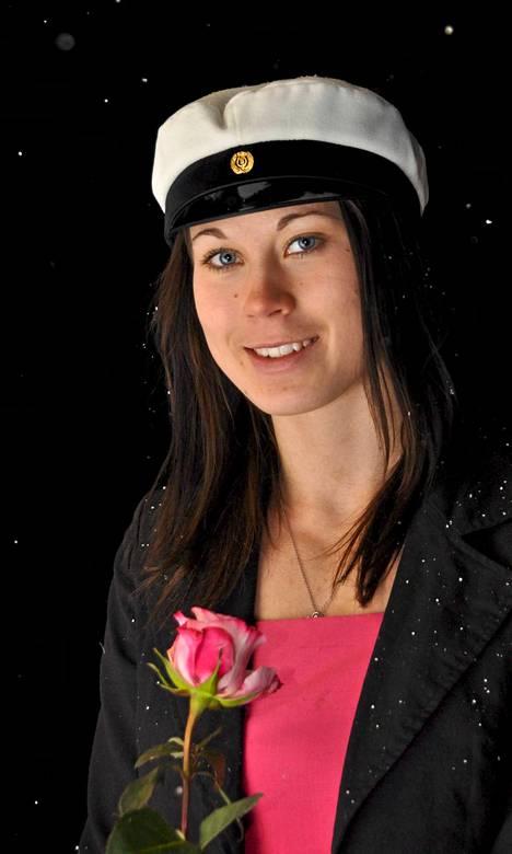 Yksi menneen talven juhlituimmista urheilijoista valmistui Sotkamon urheilulukiosta 2009.
