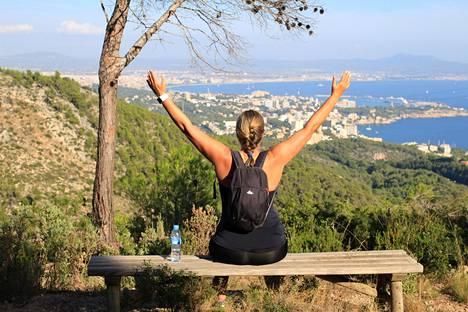 Puig Gros de Bendinatista on hieno näkymä Mallorcan saarelle.