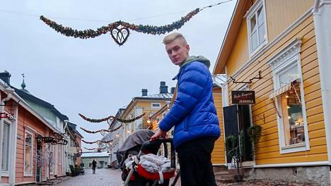 Jaakob Rissanen, 19, on suosittu muun muassa TikTokissa ja Instagramissa.
