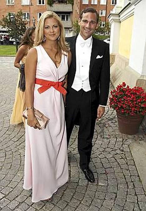 Madeleinen ja Jonaksen suhde oli kriisissä jo viime elokuussa, kun tämä kuva otettiin.