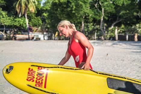 Martina ja hengenpelastajat -sarjassa harjoiteltiin fyysisesti raskaita pelastustehtäviä.