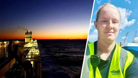 Riihimäeltä kotoisin olevalla Laura Leppäsellä on liikkuva työ suomalaisen Finnlines-varustamon päivämiehenä. Leppänen kertoo, mitä työ tekijältään edellyttää.
