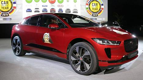 World Car of the Year 2019 Jaguar I-Pace.