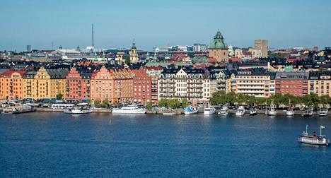 Opiskelija-Tove asui lääkärienonsa luona Norra Mälarstrandilla.
