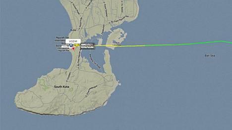 Virgin Blue -yhtiön kone yritettiin kaapata matkalla Balille.