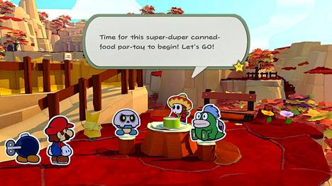 Pelissä on paljon pieniä, hassuja ongelmia. Säilykepurkin saa auki, kun löytää lähistöltä säilykeharrastajien piknikin.