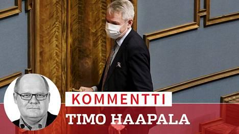 Ulkoministeri Pekka Haaviston (vihr) ympärillä pyörinyt turbulenssi on myrkyttänyt myös hallituksen ilmapiirin.