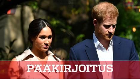 Sussexin herttuapari Harry ja Meghan vieraili lokakuun alussa Etelä-Afrikassa.