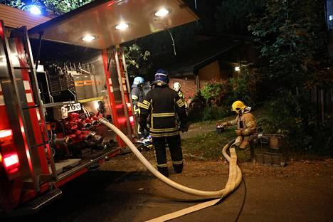 Toisen palon aiheuttamat vahingot olivat hieman vähäisemmät.