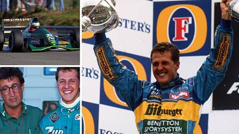 Michael Schumacher päätyi Jordanin sijasta Benettonille yhden sanan ansioista.