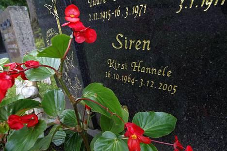 Kikka eli Kirsi Sirén kuoli vain 41-vuotiaana.